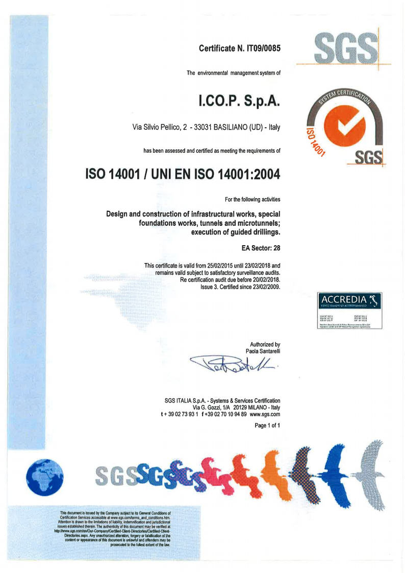 ISO 9001 / UNI EN ISO 9001:2008