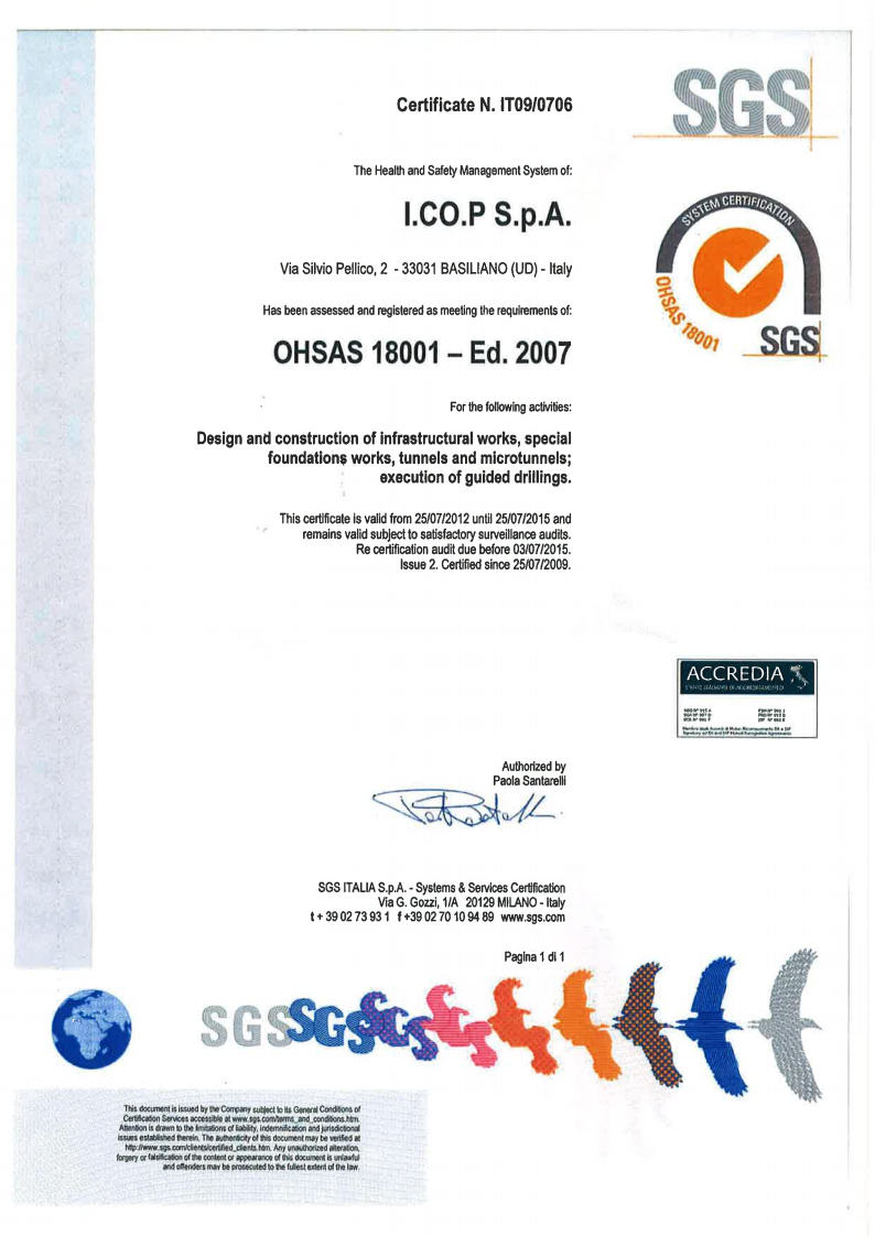 OHSAS 18001- Ed. 2007